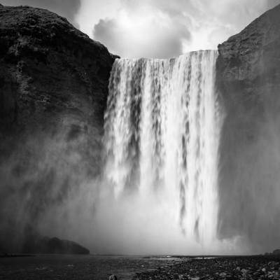 Island monochrom