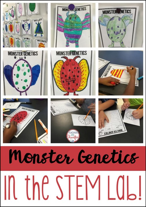 Genetics in the STEM Lab! - STEM Activities for Kids