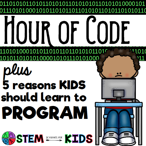 Hour of Code – 5 Reasons Kids Should Learn to Program