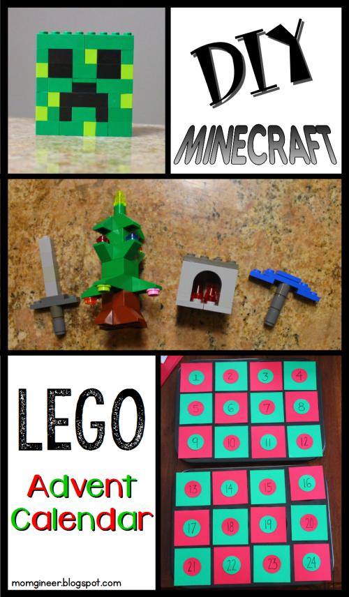 MINECRAFT LEGO advent calendar