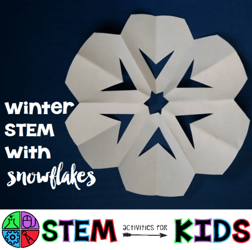Winter Stem With Snowflakes Stem Activities For Kids