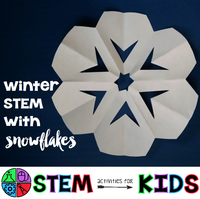 Winter STEM with Snowflakes