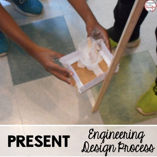 The Engineering Design Process last step is to share what you have created- even if it doesn't work!