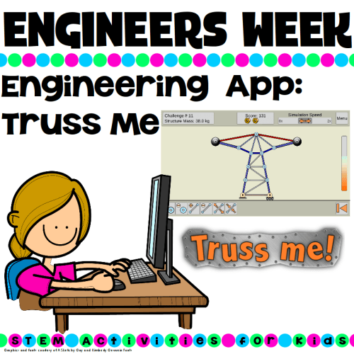 Engineering App for Kids Truss Me