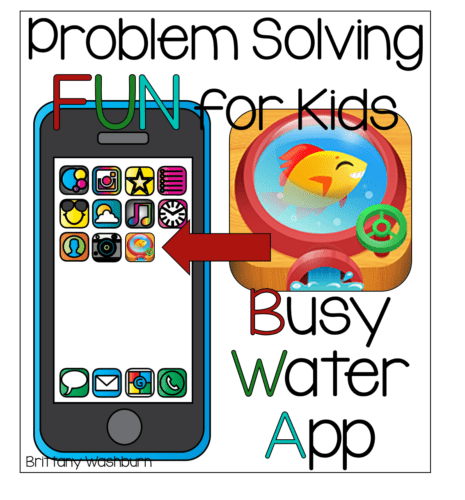 Problem solving fun for kids busy water app stem activities for kids problem solving fun for kids with the busy water app altavistaventures Image collections