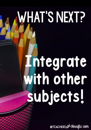 One way to get STEM into your classroom is to integrate it with other subjects!