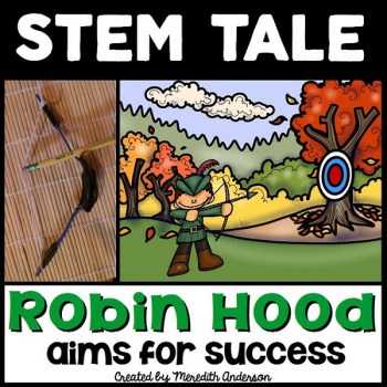 STEM Challenge based on Robin Hood. Great way to integrate subjects! Check the blog post for more!