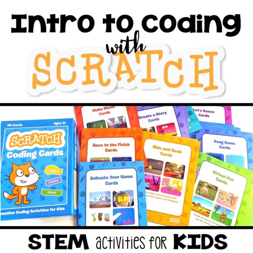 Jump right into Scratch by using these 10 sets of coding projects!