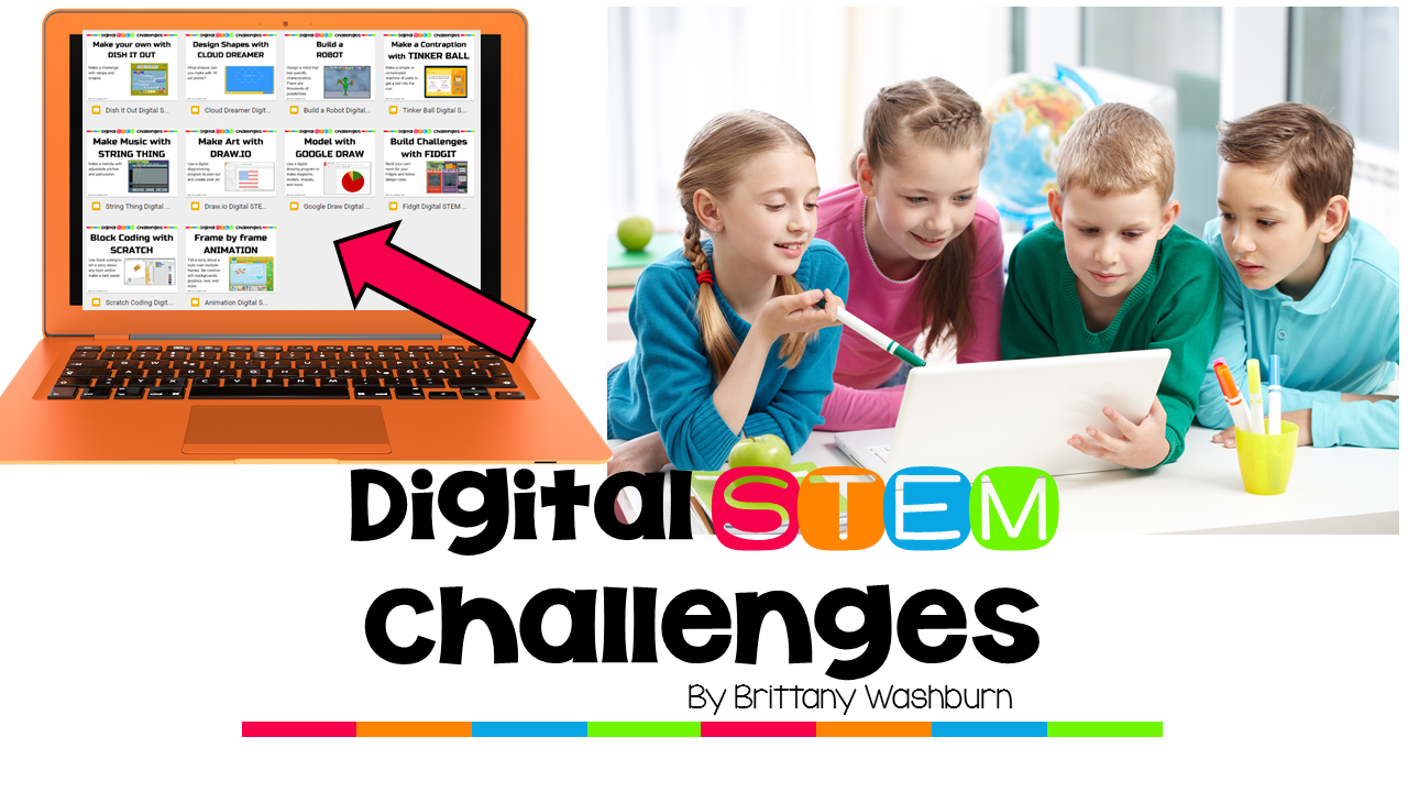 Digital STEM Challenges for Websites and Apps