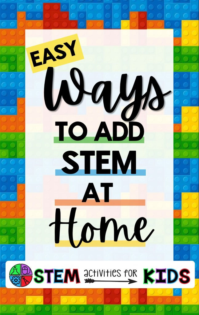 Easy STEM activities for teachers to at Home. Ideas from several STEM teachers that can be easily adapted for your students to try at as part of your distance learning program..