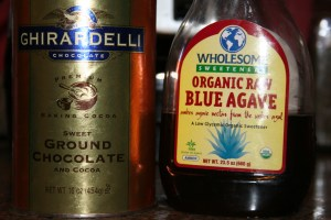 chocolate and agave