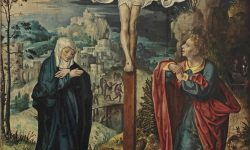 Crucifixion follower_of_joos_van_cleve