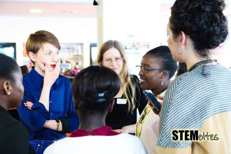 Stemettes play networking games