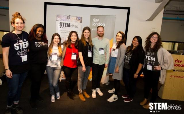 'Stemettes Rise Hack' @ RISE London Barclays - Visit http://stemettes.org/