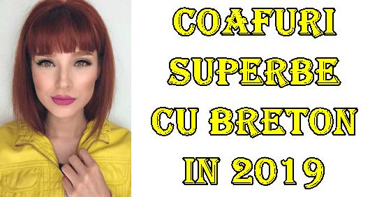 Coafuri moderne cu breton pentru 2019