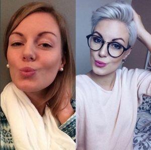 Femei curajoase care si-au schimbat radical imaginea