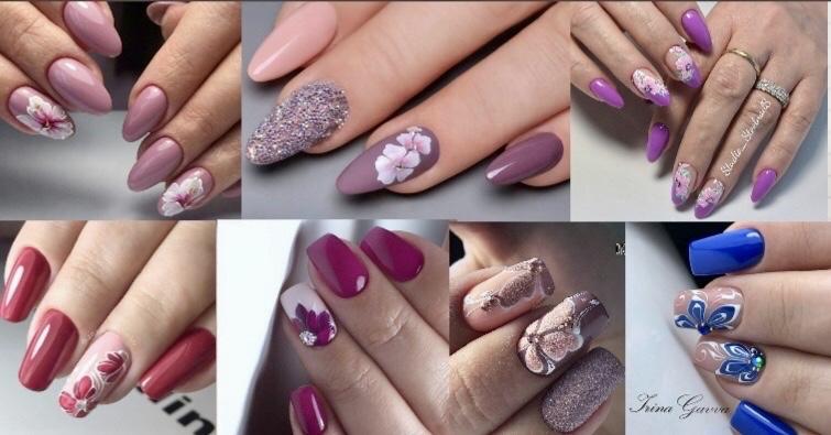 Rasfata-ti unghiile cu cele mai fabuloase idei de manichiura florala 1