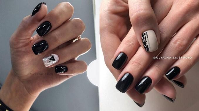 Manichiura neagră, cel mai sofisticat accesoriu pe care îl poți purta! - SteMir
