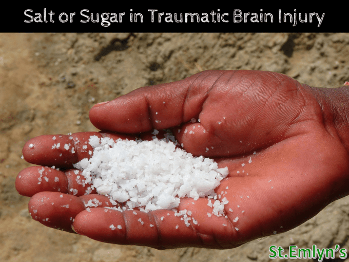 hypertonic Saline in traumatic brain injury Salt or Sugar in TBI