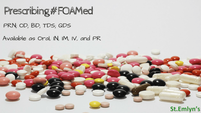#FOAMed on prescription(1)
