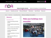 National Disability Authority of Ireland's Make Your Buildings More Accessible