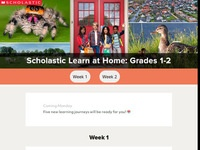 Scholastic Learn at Home Grades 1-2