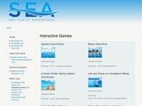 NOAA Sea Earth Atmosphere Games