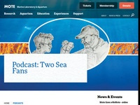 MOTE Marine Lab: Two Sea Fans