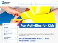 New England Aquarium Fun Activities for Kids