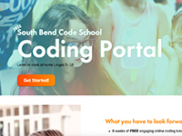 South Bend Code School Coding Portal