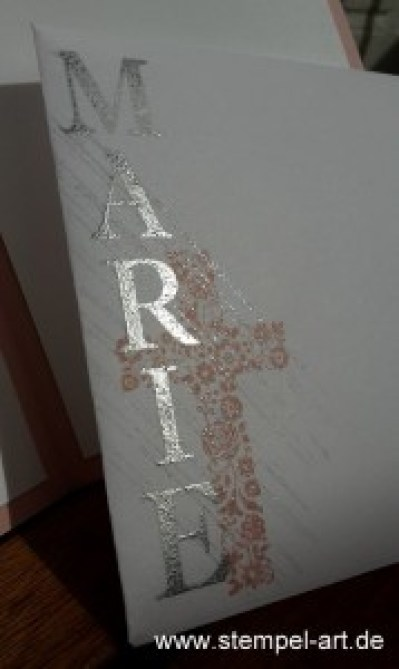 www.stempel-art.de, Gesegnet, Taufe