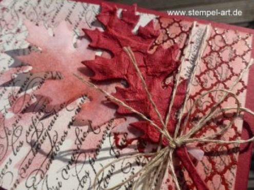 Blättertanz nach StempelART (3)