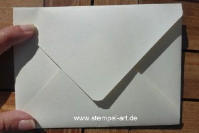 Briefumschlag mit dem Punch Board nach StempelART (1)