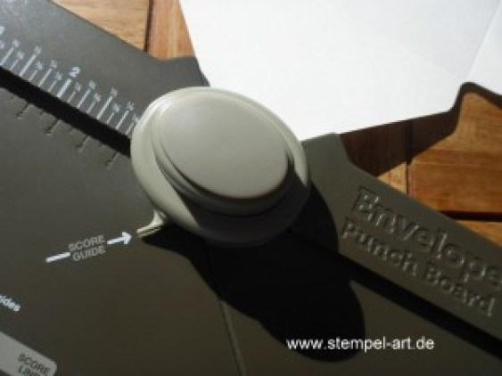 Briefumschlag mit dem Punch Board nach StempelART (8)