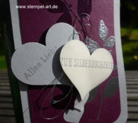 Silberhochzeit nach StempelART, Summer Silhouettes (37)