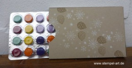 Adventskalender To Go nach StempelART, Winter Wishes, Hardwood, bebilderte Anleitung, Tutorial (9)