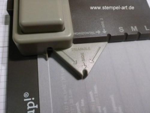 Lichttüte mit dem Stampin up Stanz und Falzbrett für Geschenktüten, bebilderte Anleitung, Tutorial (3)