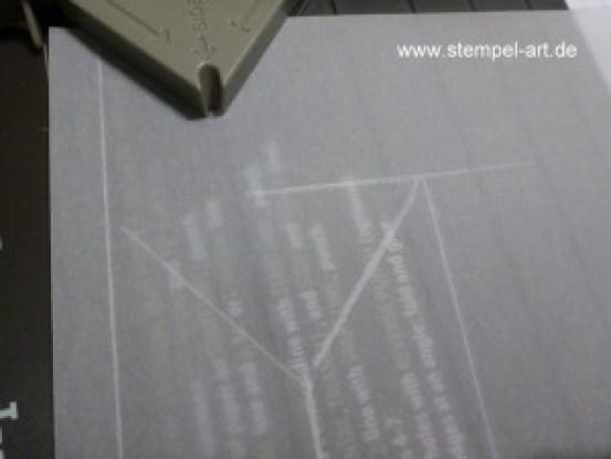 Lichttüte mit dem Stampin up Stanz und Falzbrett für Geschenktüten, bebilderte Anleitung, Tutorial (6)