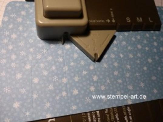 Sternbox mit dem Stampin up Stanz - und Falzbrett für Geschenktüten nach StempelART, bebilderte Anleitung, Tutorial (6)