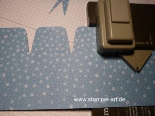 Sternbox mit dem Stampin up Stanz - und Falzbrett für Geschenktüten nach StempelART, bebilderte Anleitung, Tutorial (7)
