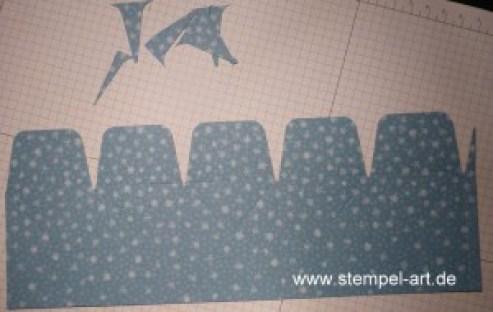 Sternbox mit dem Stampin up Stanz - und Falzbrett für Geschenktüten nach StempelART, bebilderte Anleitung, Tutorial (8)