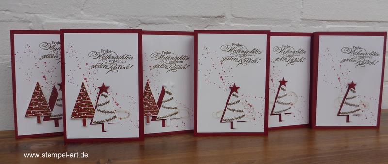 Weihnachtskarten Mit Duft.Meine Kollektion Weihnachtskarten Mit Dem Stampin Up