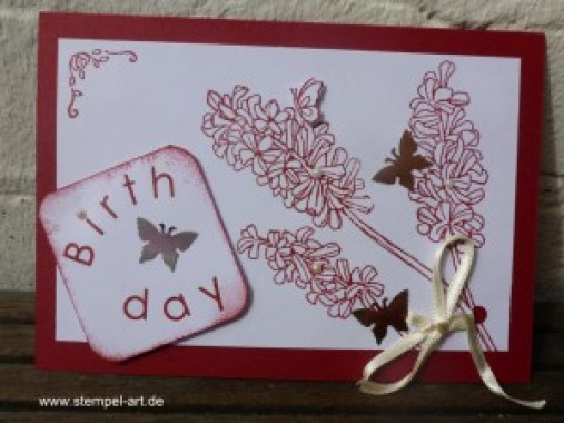 Geburtstagspost von meinem Team StempelART!!!, Stampin up