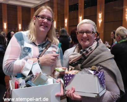 On Stage in Düsseldorf 2016 nach StempelART, Stampin up, Reisebericht