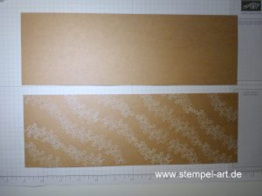 Adventskalender to go nach StempelART, Stampin up, bebilderte Anleitung, Tutorial, Verpackung