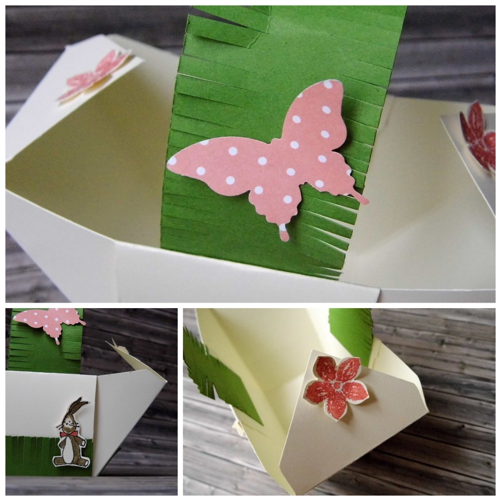 Anleitung fürs Osterkörbchen mit dem Envelope Punch Board (3/4)