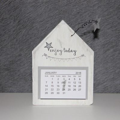 Holzhaus-Kalender