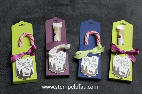 Kleine Goodies für die Kollegen. Schnell gewerkelt mit den Produkten von Stampin' Up! inklusive YouTube Video