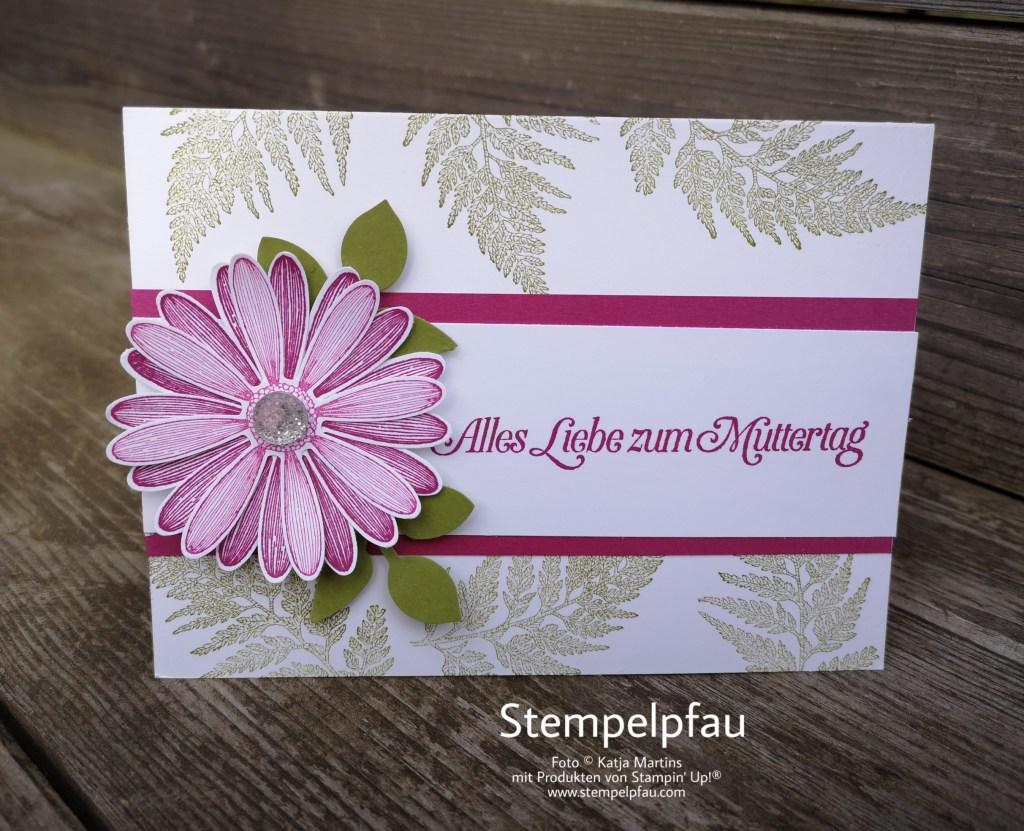 Muttertag mit Stampin' Up! und Gänseblümchenglück