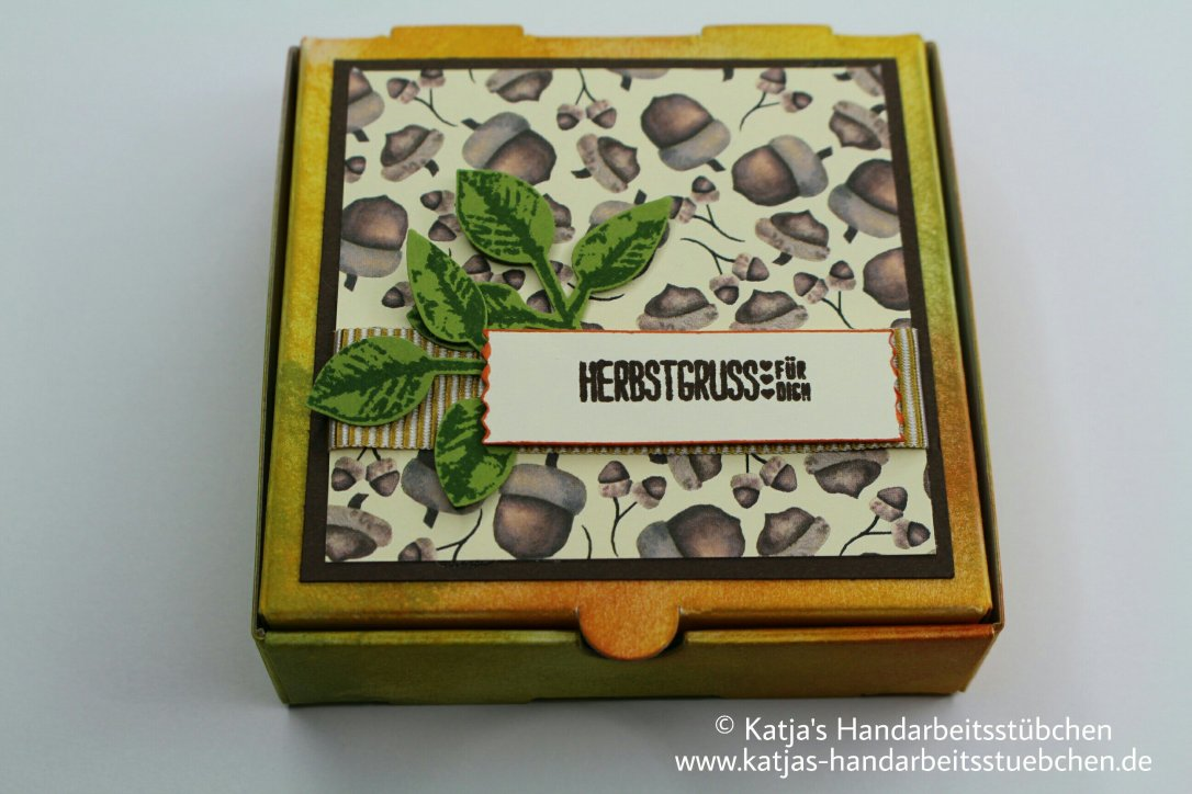 Pizzaschachtel, Herbst, Stampin' Up!,